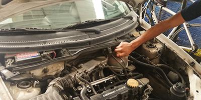 Frecuencia de mantenimiento al automóvil