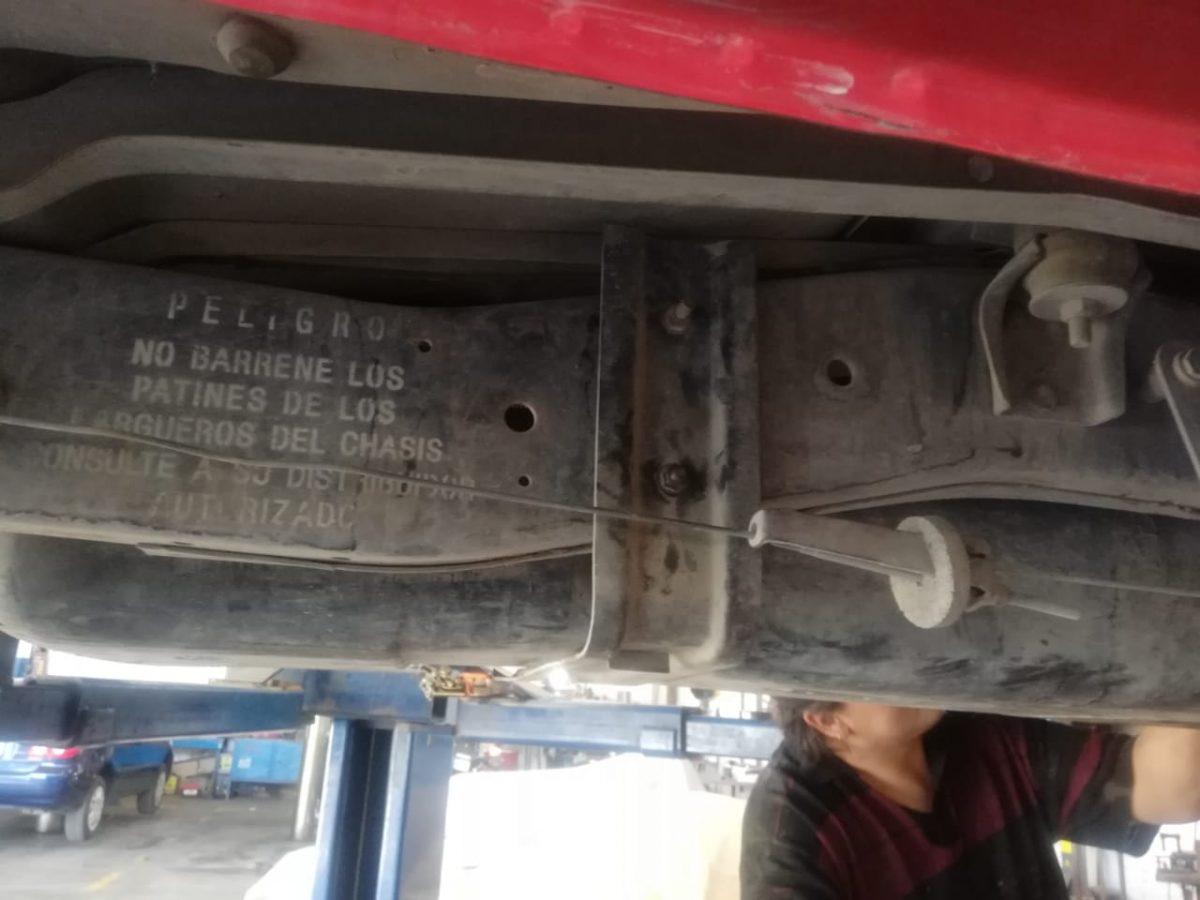 Reparación y Reforzado de Chasis en Guadalajara